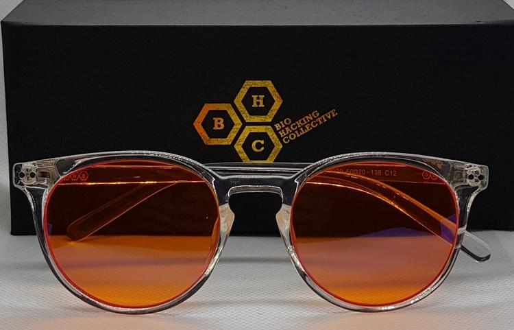 Blåljusblockerande Glasögon Amber (96%)