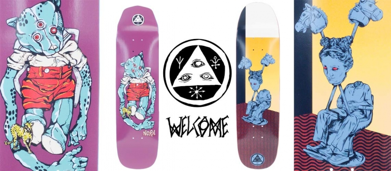 Welcome to Welcome Skateboards