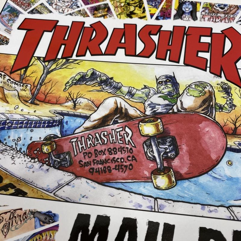 Thrasher Magazine : Mail Drop - 38 years of envelope art