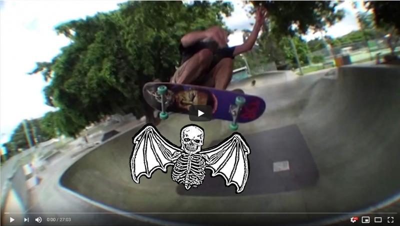 138 Skateboards : DOA video