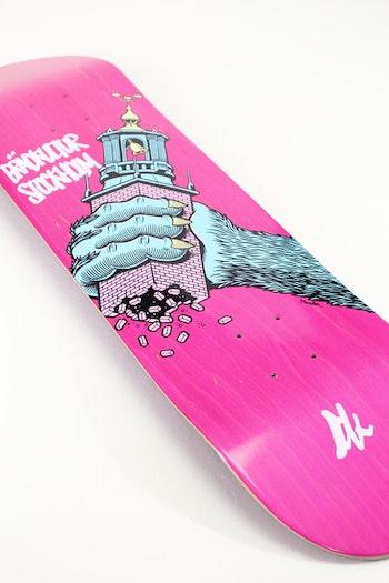 Skateboard Brädkultur Grey