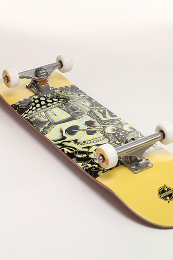 Pro Complete Chrononaut ''Mander Ouff No Big Deal'' * Independent trucks