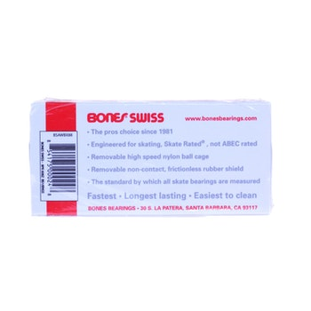 Bones Swiss Precision Skateboard Bearings + Bones Speed Cream