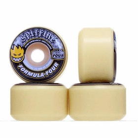 Spitfire Wheels Conical Full Formula Four 54mm 99a
