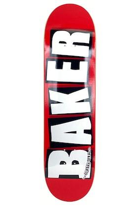 Skateboard Baker Logo 8.375'' White