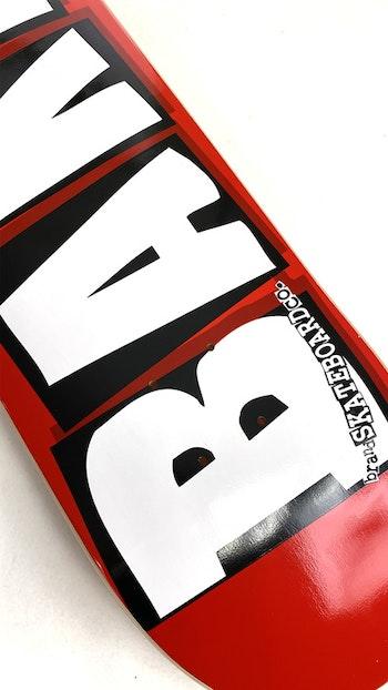 Skateboard Baker Logo 8.125'' White