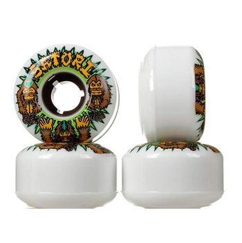 Satori Wheels x Big foot Artist Colab Cruiser 54mm 78a Combo Package with T Shirt Large