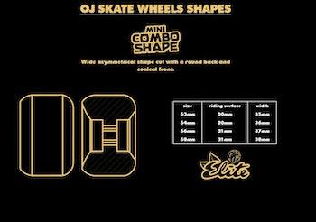 OJ Wheels Elete Mini Combo 56mm 101a