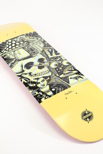 Skateboard Chrononaut * Mander Ouff Skully