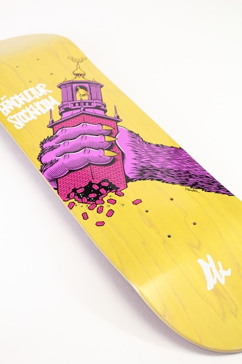 Skateboard Brädkultur Purple