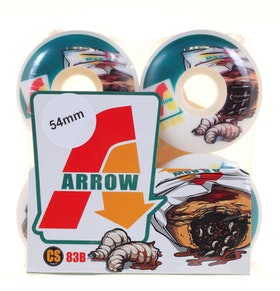Arrow Wheels Maggot Pouch 54mm 83b