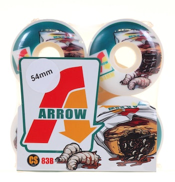 Arrow Wheels Maggot Pouch 54mm 83b