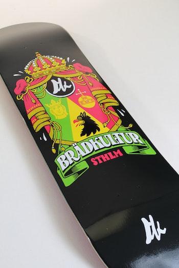 Skateboard Brädkultur Black