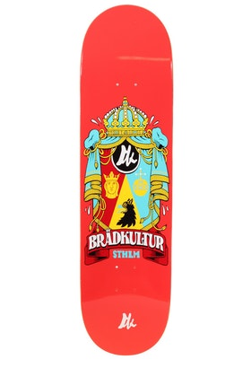 Skateboard Brädkultur Red