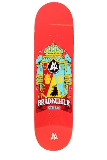 Skateboard Brädkultur Red