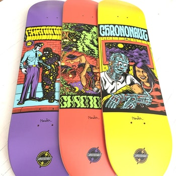 Skateboard Chrononaut * Mander The Man