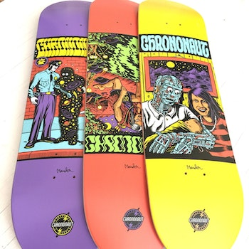 Skateboard Chrononaut * Mander Reflection