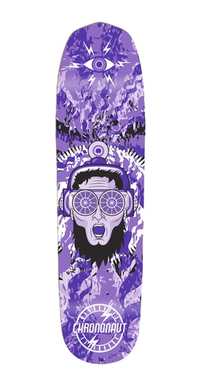 Skateboard Chrononaut Keanu fun shape 8,25''   SOLD OUT