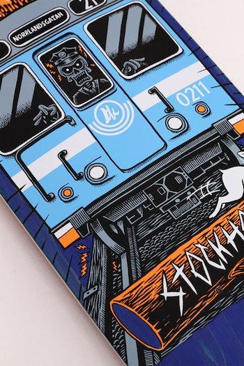 Skateboard Brädkultur Tunnelbana Blue