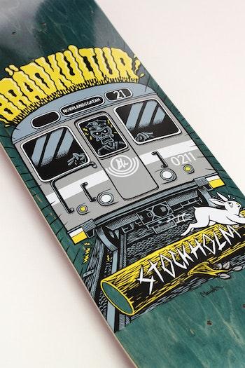 Skateboard Brädkultur Tunnelbana Grey