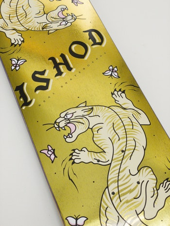 Real Skateboards Ishod  Scratch Twin Tail Gold Foil