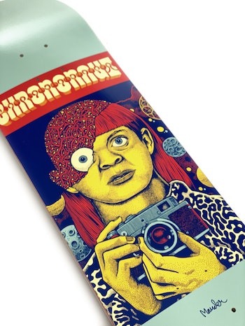 Skateboard Chrononaut The M Files - Katherine