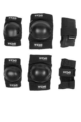 TSG Pad Set Junior Black