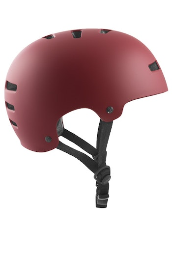 TSG Evolution Helmet Oxblood