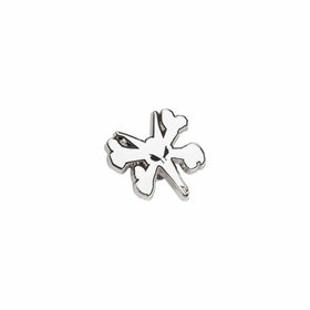 Rat Bones Logo Pin