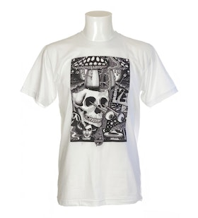 T Shirt Chrononaut Mander ''Skully''