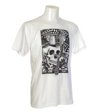 T Shirt Chrononaut Mander ''Skully''