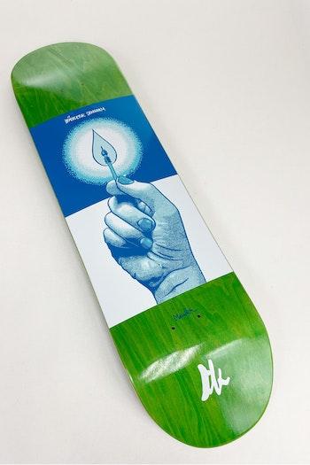 Skateboard Brädkultur Kaknästornet Blue
