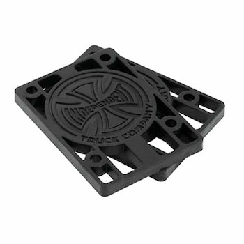 Independent Risers 0,25'' Black