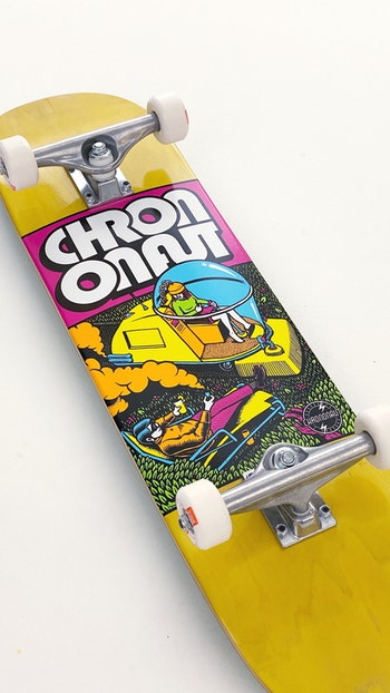 Skateboard Loco Complete * Chrononaut ''Lawnmower Man''