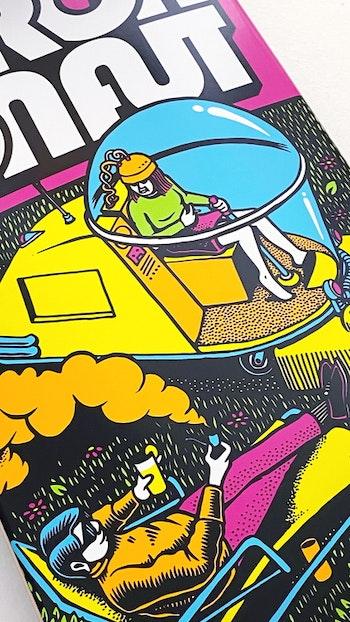 Skateboard Loco Complete * Chrononaut ''Lawnmower Man''