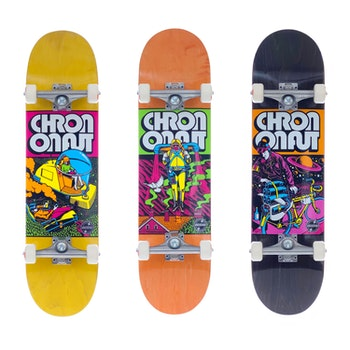 Skateboard Loco Complete * Chrononaut ''Jetsson''