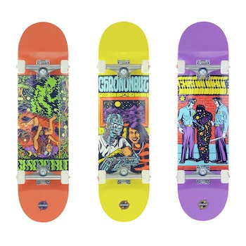 Skateboard Loco Complete * Chrononaut ''The Man''