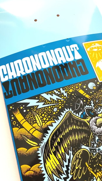 Skateboard Chrononaut Invasion ''Swoopy''