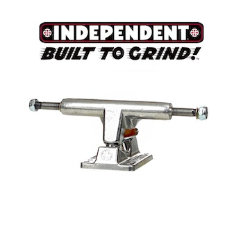 Independent 109 Polished Skateboard Trucks