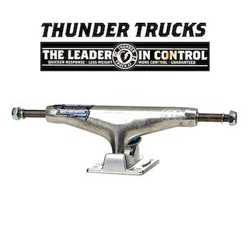 Thunder 148 Polished Hollow Lights Skateboard Truck