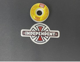 Sticker Independent  'VIntage Cross'