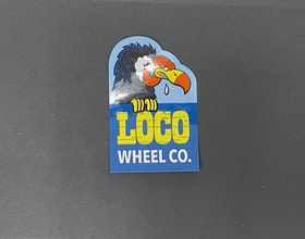 Sticker Loco Wheel Co 'Logo'