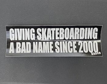 Sticker Baker 'Bumper Sticker'