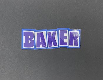 Sticker Baker 'Logo OG -01