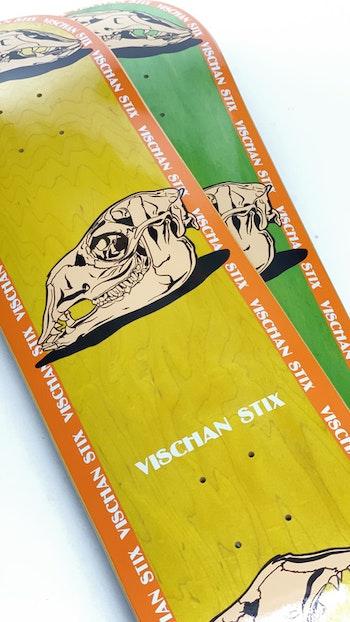 Skateboard Vischan Stix ''Llama Skull'