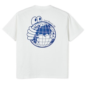 T-Shirt Last Resort AB ''World'' White