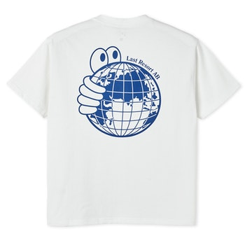 T-Shirt Last Resort AB ''World'' White