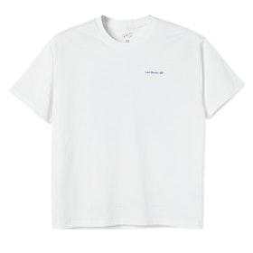 T-Shirt Last Resort AB ''World'' White Blue