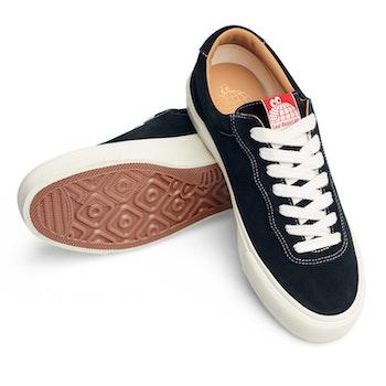 Shoes Last Resort AB VM001 Suede Lo Black White