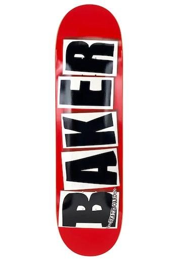 Skateboard Baker Logo 8.38'' Red